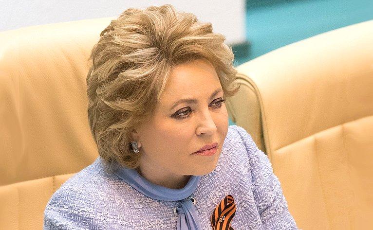 Матвиенко: Ротация кадров в русской политике плановая
