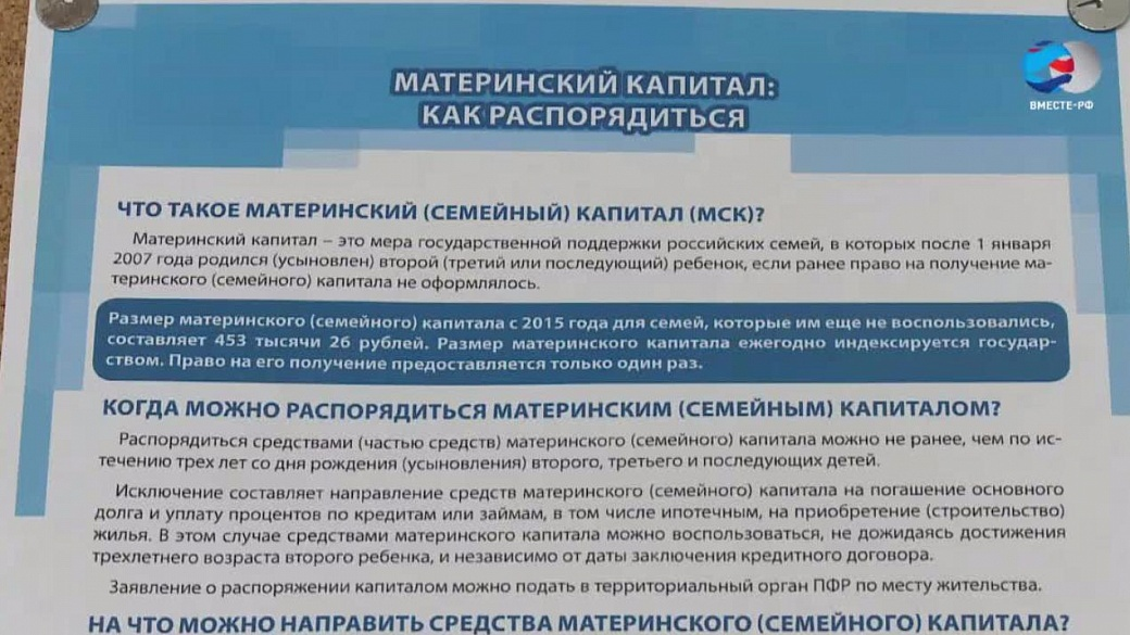 Совфед одобрил закон обэлектронном сертификате наматеринский капитал