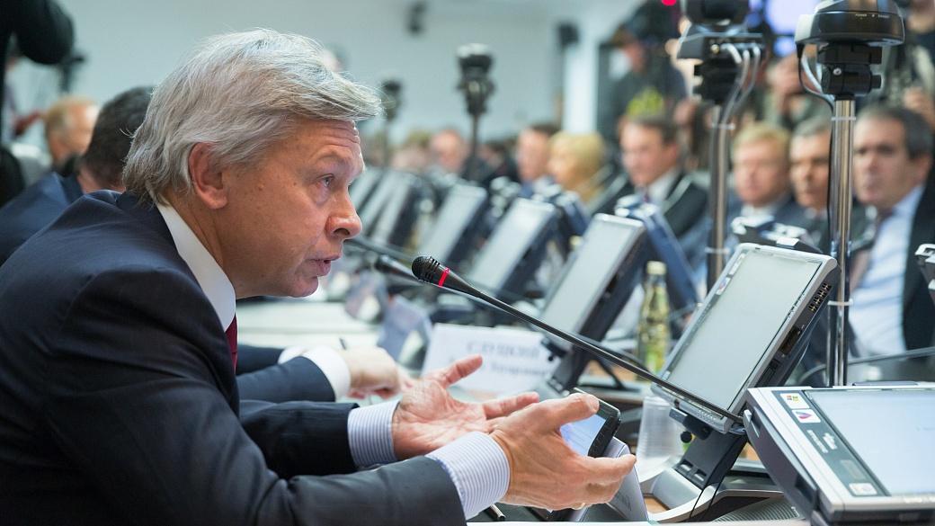 Пушков высмеял обвал экспорта украинского сала